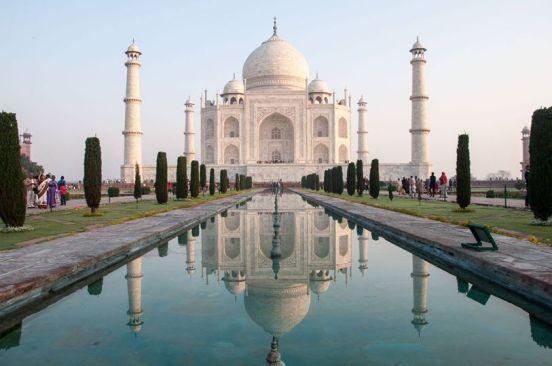 Taj Mahal - von Andersreisender
