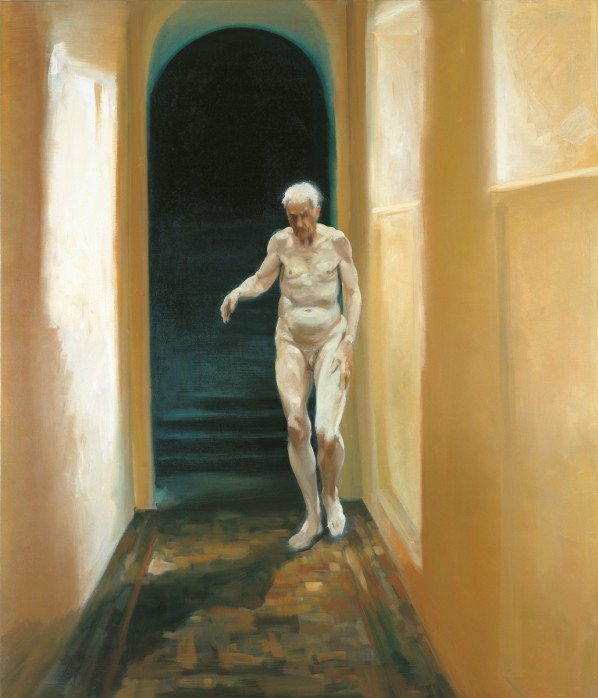 eric fischl, frailty is a moment of self reflextion 1996